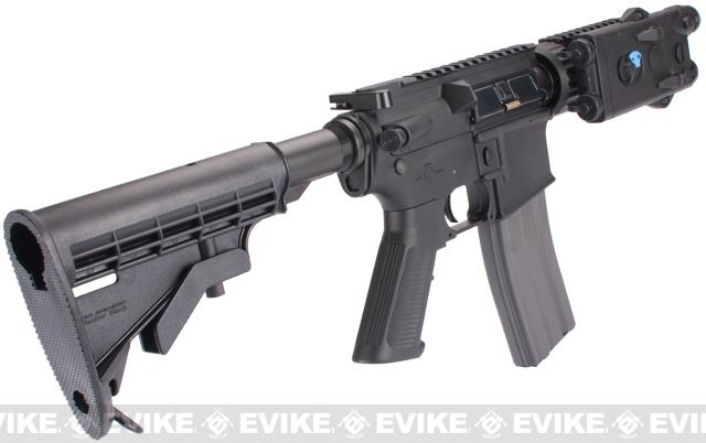 Evike Custom Class I G&G TANK M4 Airsoft AEG Rifle - Black (Package: Gun Only)