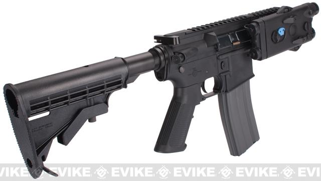Evike Custom Class I G&G M4 Fighting Cat Airsoft AEG Rifle - Black (Package: Gun Only)