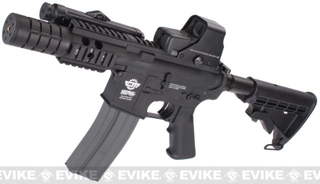 Pre-Order ETA July 2016 Evike Custom Class I G&G M4 Patriot Airsoft AEG Rifle - Black (Package: Gun Only)