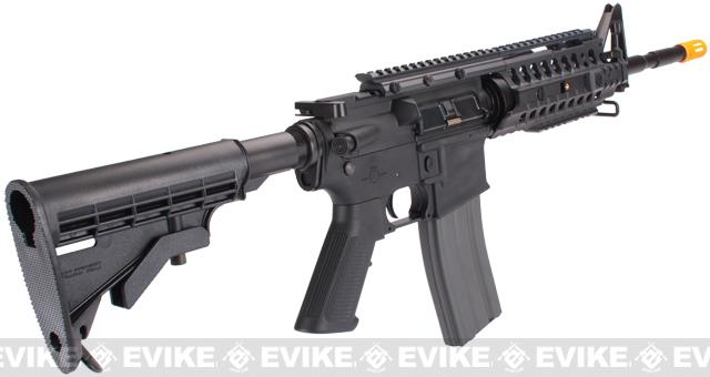 z Evike Custom G&G M4S System Airsoft AEG Rifle - Black