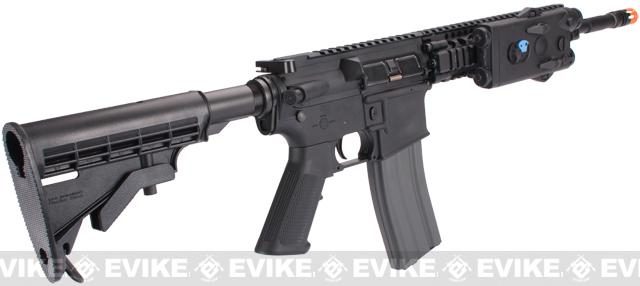 Evike Custom Class I G&G M4 Airsoft AEG Rifle - Daniel Defense 9 Black (Package: Gun Only)