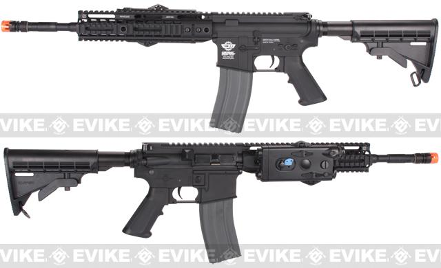 Evike Custom Class I G&G M4 Airsoft AEG Rifle - Noveske 10 Black (Package: Gun Only)