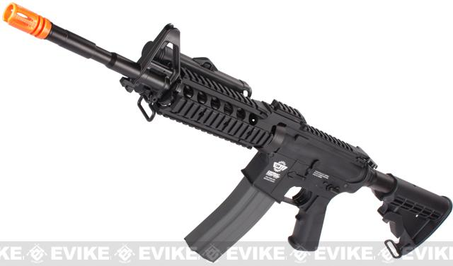 Evike Custom Class I G&G M4 Airsoft AEG Rifle - RASII Black (Package: Gun Only)