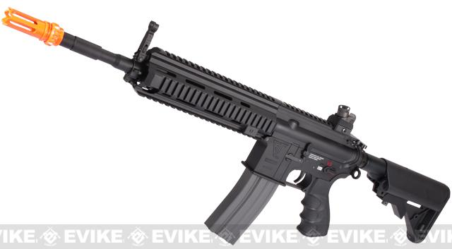 G&G Top Tech Full Metal Blowback TR4-18 Airsoft AEG Rifle - Carbine Length