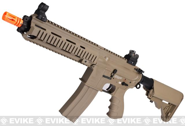 G&G Top Tech Full Metal Blowback T4-18 SBR Airsoft AEG Rifle - Tan (Package: Gun Only)