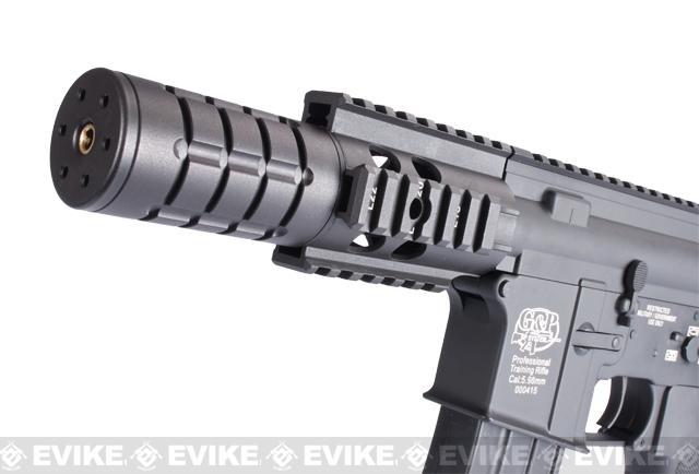 Pre-Order ETA April 2017 Evike Custom Class I G&P M4 Full Metal Airsoft AEG Rifle - Patriot (Package: Add Battery + Charger)