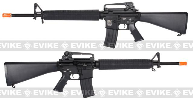 G&P Supreme Grade Full Metal M16A3 Airsoft AEG Rifle - Black