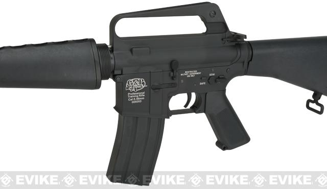 G&P Full Metal CAR-15 Carbine Airsoft AEG Rifle with Retractable Stock