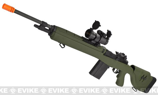 Bone Yard - G&P M14 Socom-16 DMR Custom Airsoft AEG Sniper Rifle (Store Display, Non-Working Or Refurbished Models)