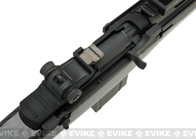G&P M14 DMR Custom Airsoft AEG Sniper Rifle - Real Carbon Fiber (Package: Add Battery + Charger)