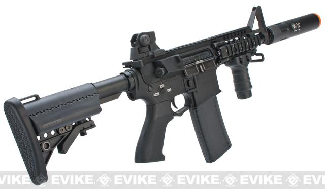 Pre-Order ETA June 2017 Evike.com G&P Rapid Fire II Airsoft AEG Rifle w/ QD Barrel Extension  (Package: Black / G&P  Receiver / Battery + Charger)