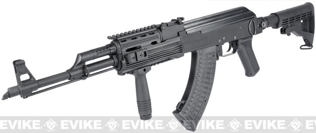 G&P Custom Contractor AK47 Tactical Airsoft AEG Rifle (Package: Add Battery + Charger)
