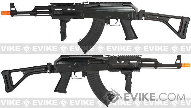 G&P Contractor AK47 Airsoft AEG Rifle with Folding Stock (Package: Gun Only)