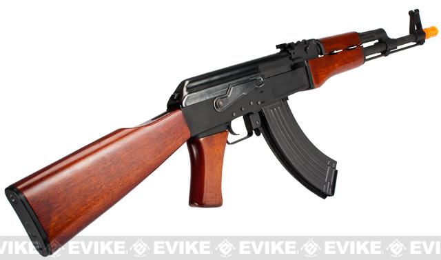 G&P Metal AK47 Airsoft AEG Rifle with Real Wood Furniture (Package: Gun Only)