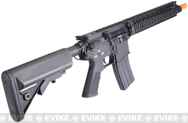 Pre-Order ETA March 2017 Evike Custom Class I G&P M4 Airsoft AEG Rifle - Daniel Defense MK12 (Package: Add Battery + Charger)