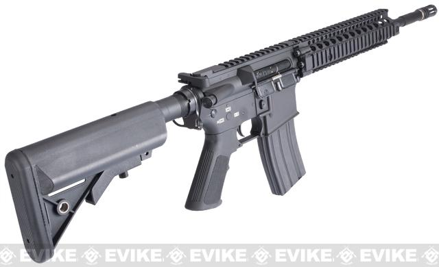 Evike Custom Class I G&P M4 Full Metal Airsoft AEG Rifle - Daniel Defense MK18 (Package: Add 7.4v LiPo Battery + BMS Charger + LiPo Safe)