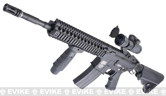 Evike Custom Class I G&P M4 Airsoft AEG Rifle - Daniel Defense MK18 (Package: Gun Only)