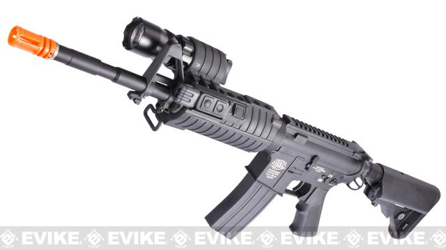 Evike Custom G&P M4 Full Metal Airsoft AEG Rifle - SWAT Carbine