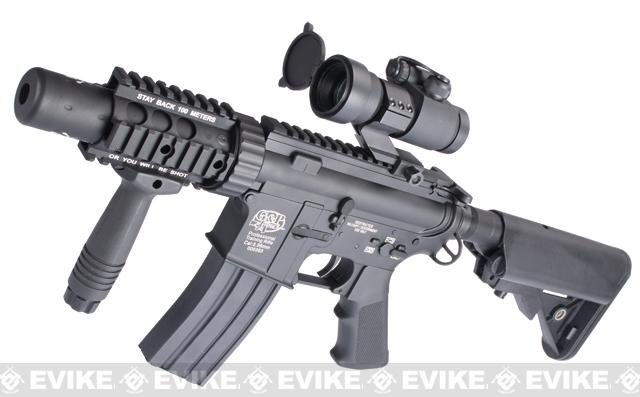 Evike Custom G&P M4 Full Metal Airsoft AEG Rifle - Stubby Killer