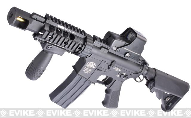 Evike Custom Class I G&P M4 Metal Airsoft AEG Rifle - TANK (Package: Add Battery + Charger)
