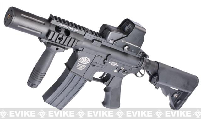 Evike Custom G&P M4 Full Metal Airsoft AEG Rifle - Fighting Cat