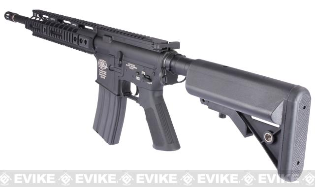 Pre-Order ETA March 2017 Evike Custom Class I G&P M4 Full Metal Airsoft AEG Rifle - Noveske 10 (Package: Add Battery + Charger)