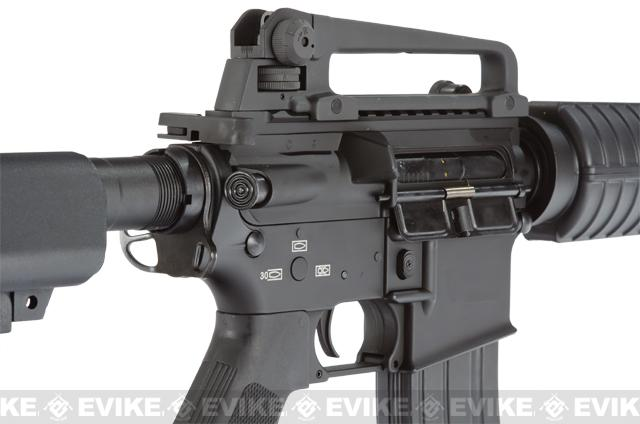G&P Full Metal Advanced M4 Carbine AEG w/ Crane Stock (Model: Black)
