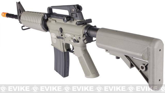 G&P Full Metal Advanced M4 Carbine AEG w/ Crane Stock (Model: Foliage Green)