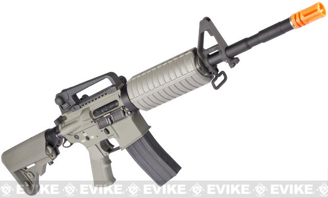 Pre-Order ETA March 2017 G&P Full Metal Advanced M4 Carbine AEG w/ Crane Stock (Model: Foliage Green Add Battery + Charger)