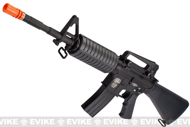 G&P M4 Carbine Airsoft AEG Rifle w/ Full Size M16 Stock - (Package: Gun Only)