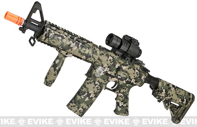 Pre-Order ETA March 2017 G&P M4 AOR-2 Jungle Warfare Special Edition CQB-R Airsoft AEG Rifle (Package: Add Battery + Charger)