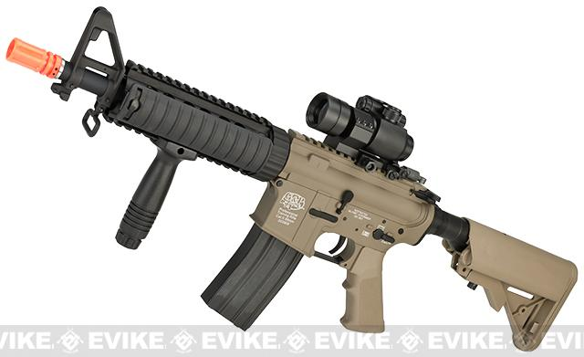 G&P M4 CQB-R Full Metal Airsoft AEG Rifle - Dark Earth