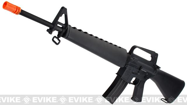 z G&P Colt Licensed Full Metal M16A1 M16 Vietnam Airsoft AEG Rifle