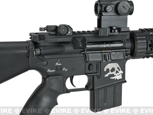 G&P Custom M4 Stubby Killer Airsoft AEG Rifle (Package: Add Battery + Charger)