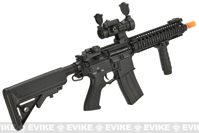 Pre-Order ETA June 2017 G&P Custom Defender M4 SBR Airsoft AEG Rifle - Black (Package: Add Battery + Charger)