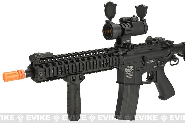 Pre-Order ETA April 2017 G&P Custom Defender M4 SBR Airsoft AEG Rifle - Black (Package: Add Battery + Charger)