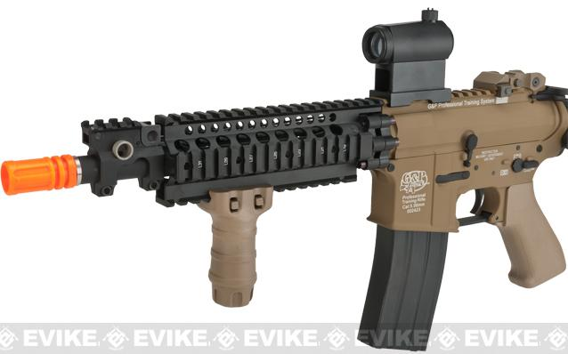 G&P Sentry 10.5 Shorty M4 Airsoft AEG - Sand (Package: Add Micro Red / Green Dot Optic)