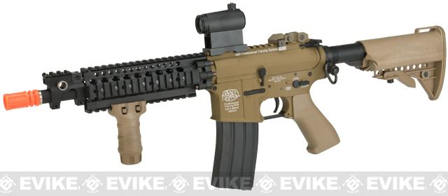 Pre-Order ETA July 2017 G&P Sentry 10.5 Shorty M4 Airsoft AEG - Sand (Package: Add Micro Red / Green Dot Optic)