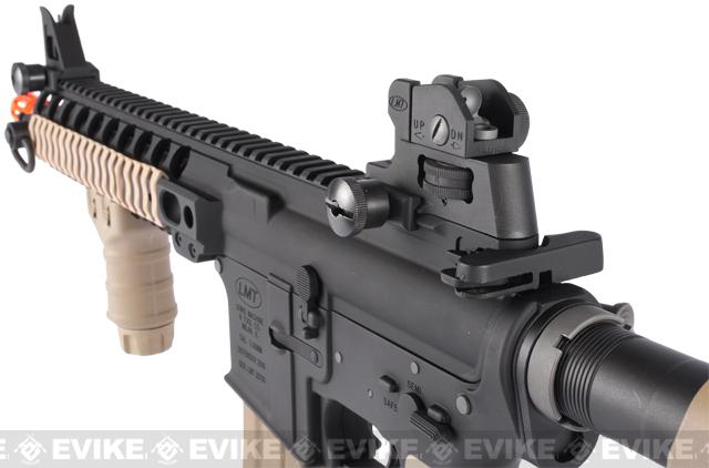 z LMT Licensed MRP Full Metal M4 Airsoft AEG Rifle by G&P - Sand