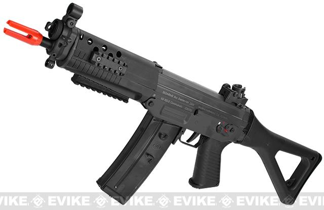 ICS SIG 552 Commando Airsoft AEG Rifle - Black