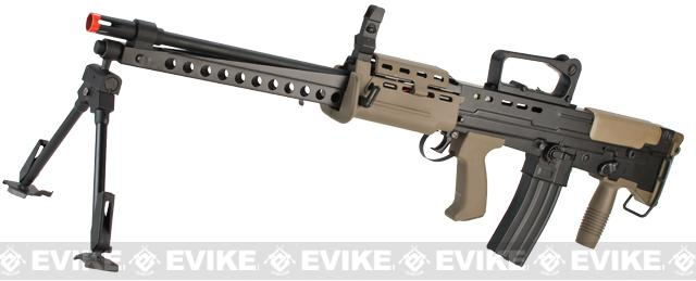 Pre-Order ETA November 2015 ICS Full Metal L86A2 British Military Full Size Airsoft AEG Rifle