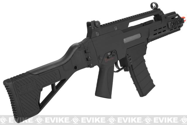 ICS G33 Airsoft AEG Rifle - Black