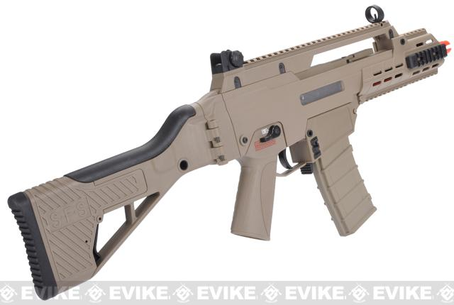 ICS G33 Airsoft AEG Rifle - Desert Tan