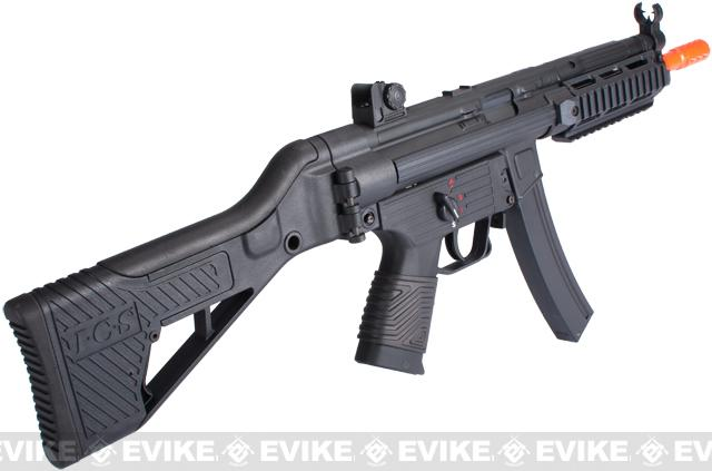 ICS MX5-Pro Full Metal Airsoft Submachine Gun AEG w/ Folding Stock