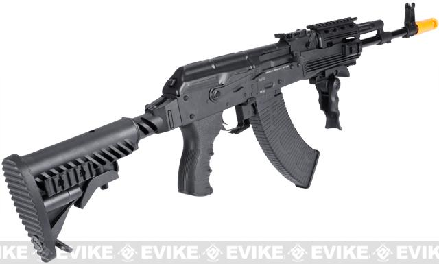 APS Full Metal AK74 Special Forces Electric Blowback Airsoft AEG Rifle