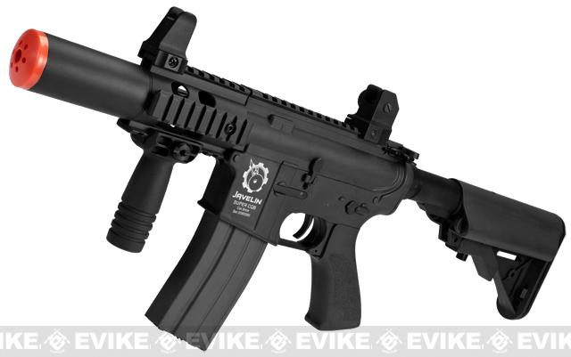 z Javelin Warrior Super M4 CQB Airsoft AEG Rifle - Black