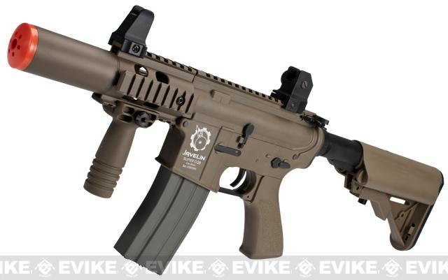 z Javelin Warrior Super M4 CQB Airsoft AEG Rifle - Dark Earth