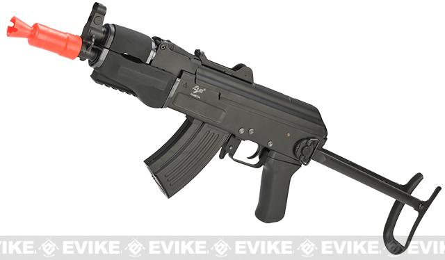 Pre-Order ETA July 2015 AK Beta Spetsnaz Airsoft AEG Rifle by JG (Metal Gearbox / Folding Stock)