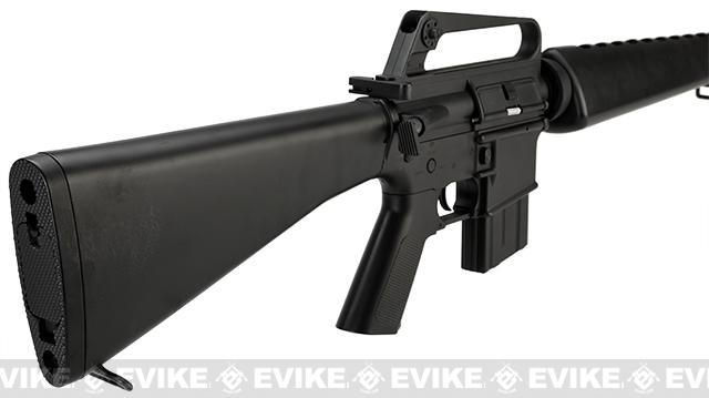 JG M16 Vietnam Full Size Airsoft AEG Rifle with Lipo Ready Gearbox - (Package: Rifle)