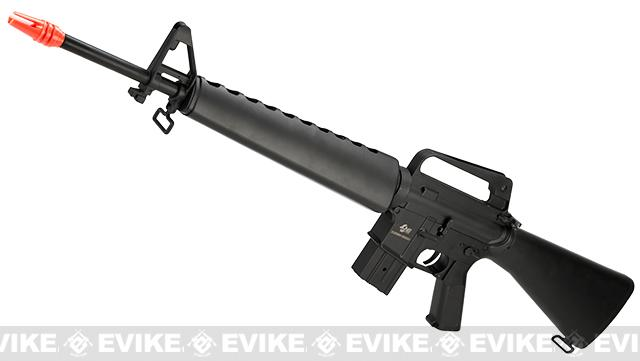JG M16 Vietnam Full Size Airsoft AEG Rifle with Lipo Ready Gearbox